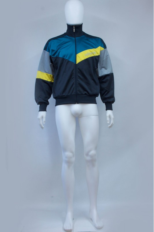 80s Adidas Colour Block Track Jacket