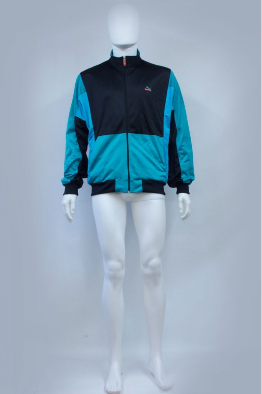 80s Puma Block Colour Track Jacket
