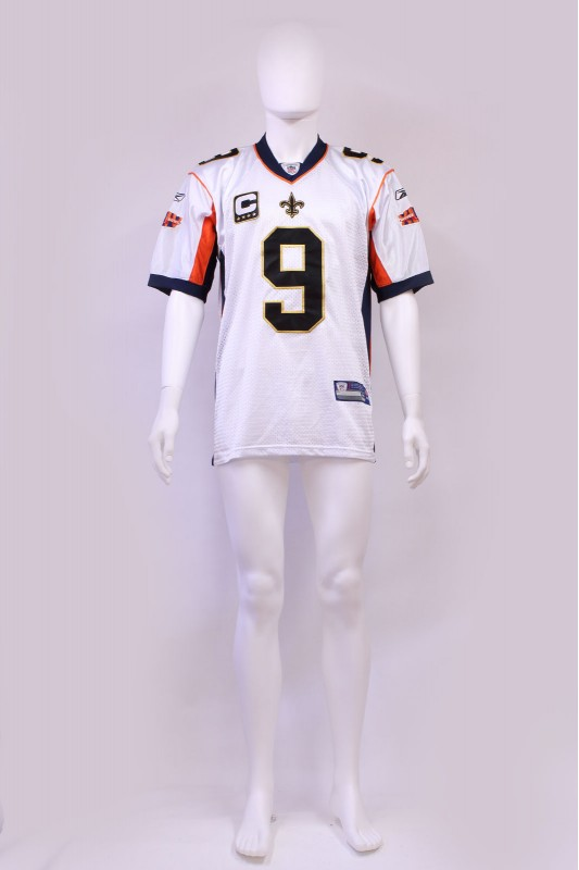 New Orleans Saints Drew Brees Superbowl Jersey NFL
