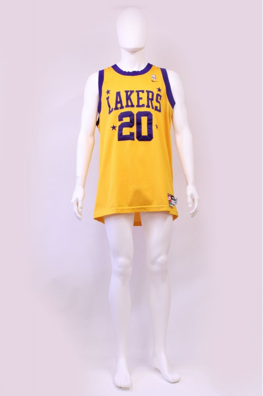 LA Lakers Gary Payton Swingman Nike NBA Jersey
