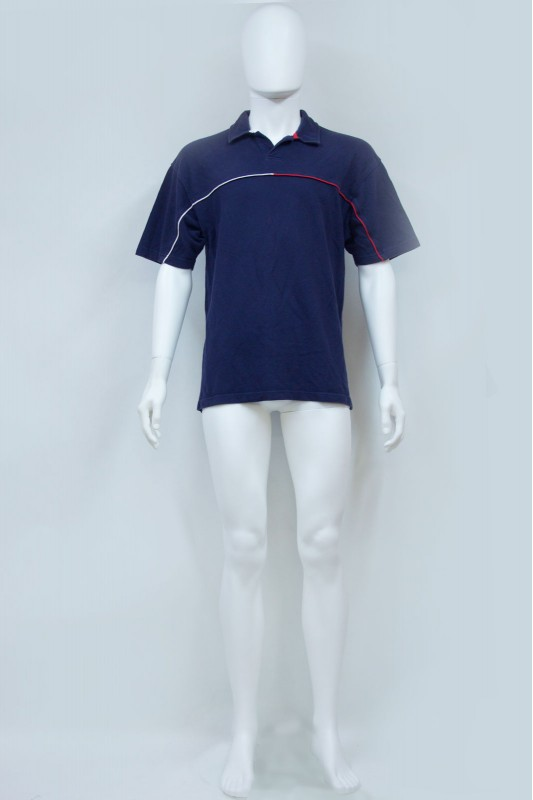 90s Tommy Hilfiger Spellout Polo Tshirt