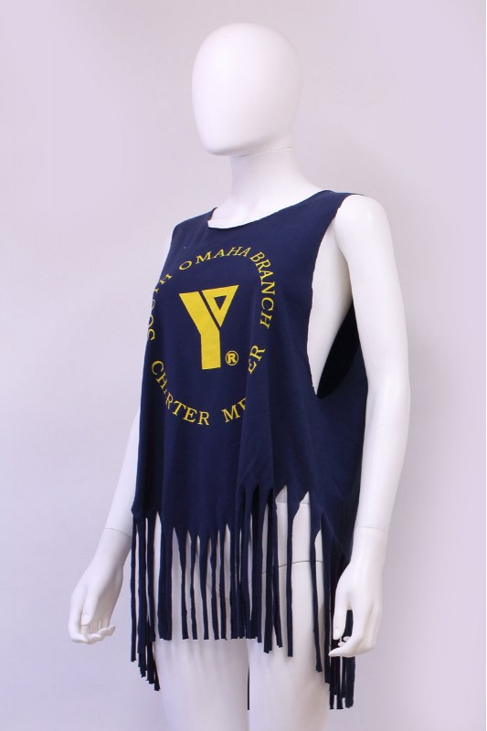 Reworked YMCA Tassle Vest