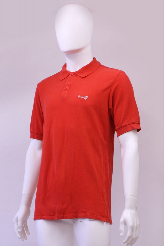 Vintage 80s Pringle Sport Red Polo TShirt