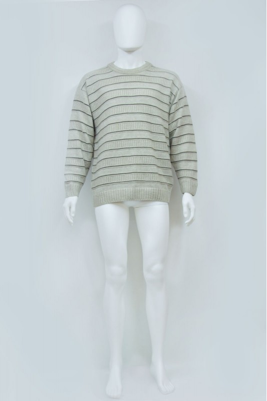 90s Oversized Ribbed Knit Jumper