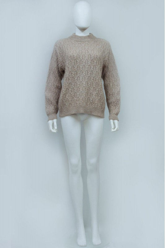 90s Crew Neck Cable Knit Jumper