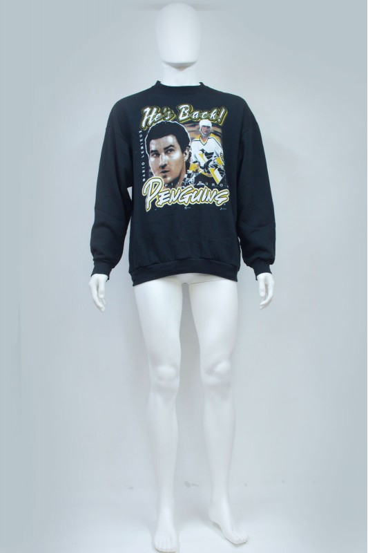 90s Pittsburgh Penguins Mario Lemieux Sweatshirt