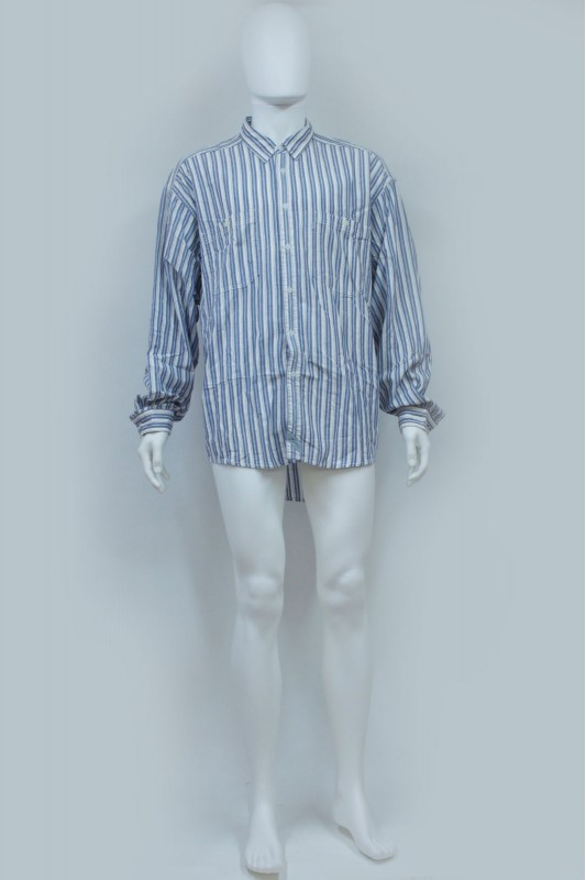 80s Levi's Oversize Stripped Cotton Shirt