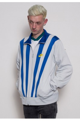 Nike Grey Stripe Track Jacket