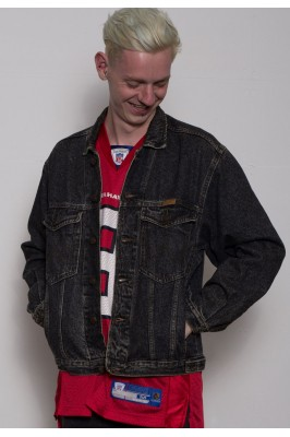 Wrangler Acid Wash Denim Jacket